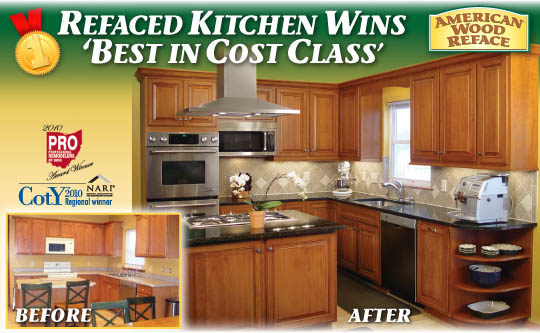 Kitchen Cabinet Refacing - Cleveland, Akron, Charlotte and Hilton ...