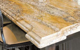 Granite Decorative Edge Countertop Replacement
