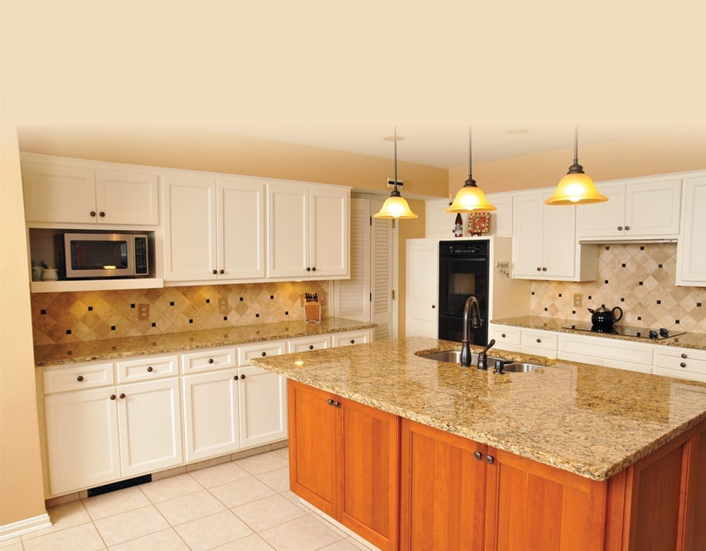 Traditional kitchen remodel in Akron, Ohio, done by American Wood Reface