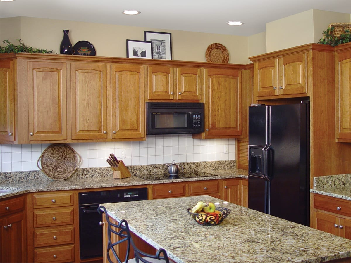 Traditional Kitchen with Contemporary Updates by American Wood Reface