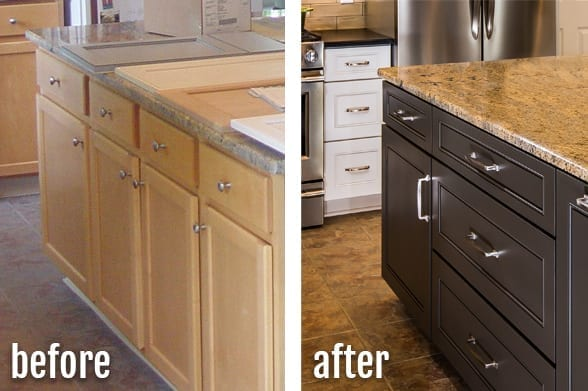 Custom Quality Kitchen Cabinet Refacing by American Wood Reface